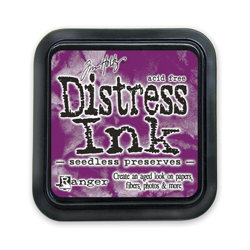Tim Holtz Distress Ink Pad SEEDLESS PRESERVES Ranger TIM32847 Preview Image