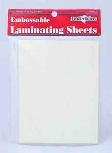 Judikins EMBOSSABLE LAMINATING POSTCARD SHEET AP410*