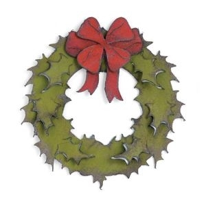 Tim Holtz Sizzix Bigz Die HOLIDAY WREATH 658264