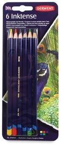 Derwent 6 INKTENSE COLORED PENCILS Watercolor 0700927 Preview Image