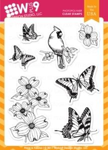Wplus9 FLORA AND FAUNA 1 Clear Stamps 75269 Preview Image