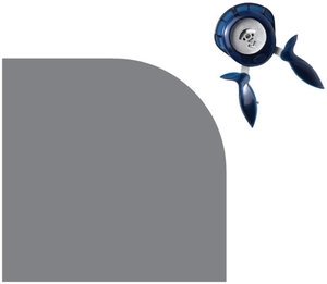 Fiskars ROUND THE BEND Easy Squeeze Punch 0.5 Inch Corner 07330 Preview Image