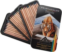 Prismacolor 36 WATERCOLOR PENCIL SET 4066