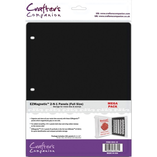 Crafter's Companion FULL SIZE 8.5 X 11 EZ MAGNETIC 2-N-1 PANELS SS41-10 Preview Image