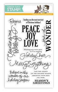 Simon Says Clear Stamps MERRY EVERYTHING Christmas SSS11120