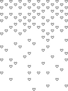 Simon Says Stamp FALLING HEARTS Craft DIE S141 Preview Image