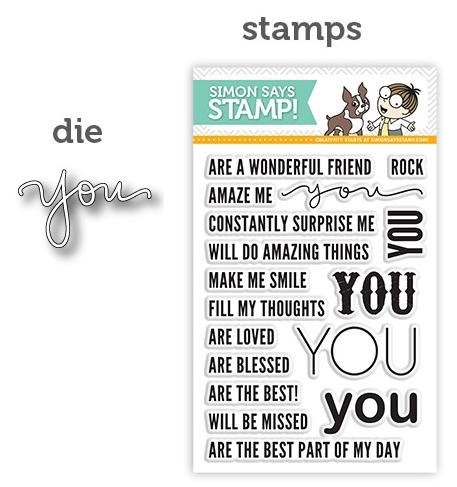 Simon Says Stamp YOU Craft Die S146 Preview Image
