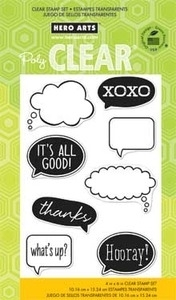 Hero Arts Clear Stamps IT'S ALL GOOD CL664
