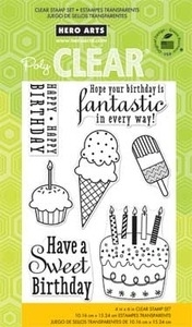 Hero Arts Clear Stamps FANTASTIC BIRTHDAY CL677 zoom image