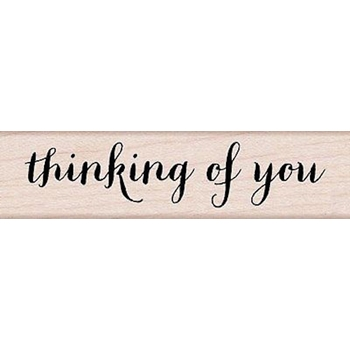 Hero Arts Rubber Stamp THINKING OF YOU SCRIPT c5643