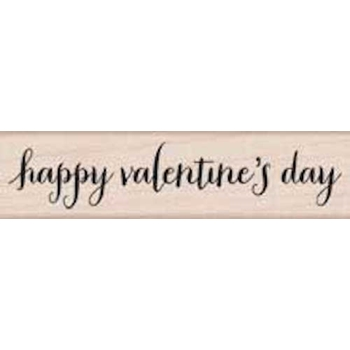 Hero Arts Rubber Stamp HAPPY VALENTINE'S DAY SCRIPT c5747