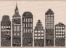 Hero Arts Rubber Stamp SKYLINE k5736 Preview Image