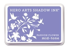 Hero Arts Shadow Ink Pad PASSION FLOWER Mid-Tone AF243