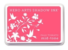 Hero Arts Shadow Ink Pad PALE TOMATO Mid-Tone AF233 zoom image