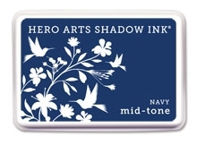 Hero Arts Shadow Ink Pad NAVY Blue Mid-Tone af234 zoom image