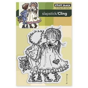 Penny Black Cling Stamp RAGGED ROMEO Rubber Unmounted 40-182 zoom image