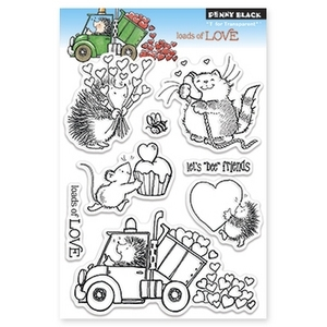 Penny Black Clear Stamps LOADS OF LOVE 30-146 zoom image