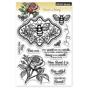 Penny Black Clear Stamps SWEET AS HONEY 30-145