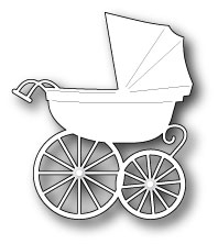 Memory Box BABY CARRIAGE Craft DIE 98528*