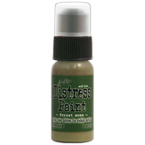 Tim Holtz Distress Paint FOREST MOSS Ranger TDD36364 Preview Image