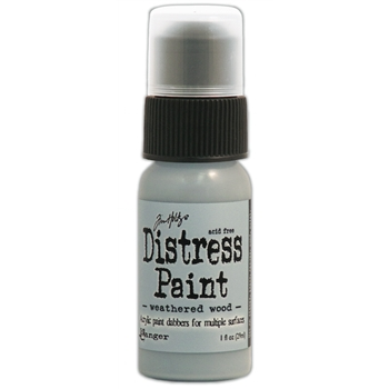 Tim Holtz Distress Paint WEATHERED WOOD Ranger TDD36524