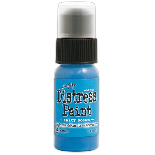 Tim Holtz Distress Paint SALTY OCEAN Ranger TDD36449 Preview Image