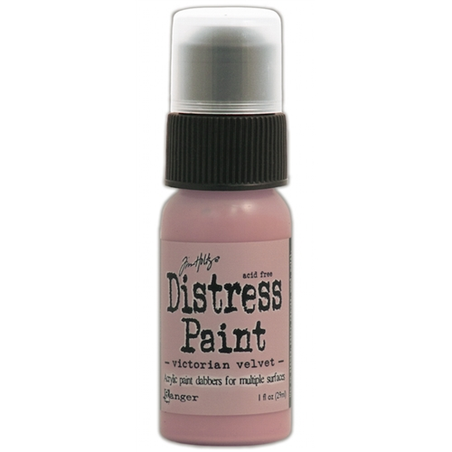 Tim Holtz Distress Paint VICTORIAN VELVET Ranger TDD36494 Preview Image