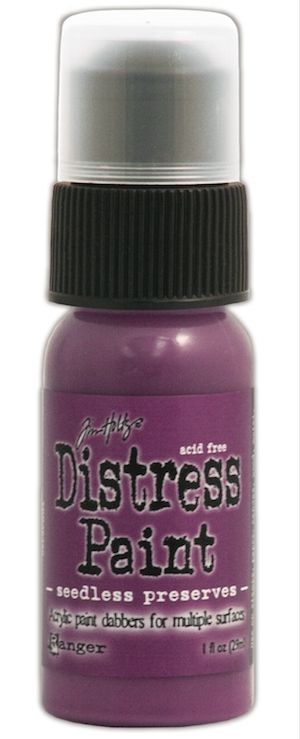 Tim Holtz Distress Paint SEEDLESS PRESERVES Ranger TDD36456 zoom image