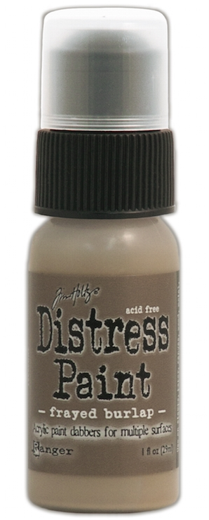 Tim Holtz Distress Paint FRAYED BURLAP Ranger TDD36371 zoom image