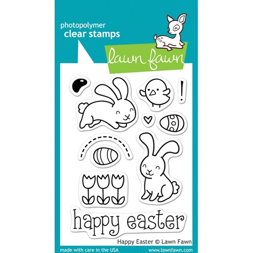 Lawn Fawn HAPPY EASTER Clear Stamps Preview Image