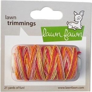Lawn Fawn PINK LEMONADE Single Cord Trimmings