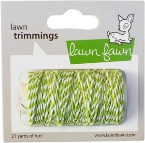 Lawn Fawn Lime Single Cord Trimmings