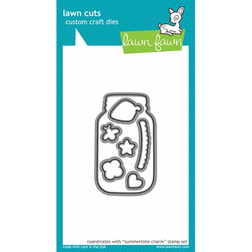 Lawn Fawn SUMMERTIME CHARM Lawn Cuts Dies Preview Image