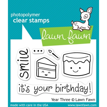 Lawn Fawn YEAR THREE Clear Stamps