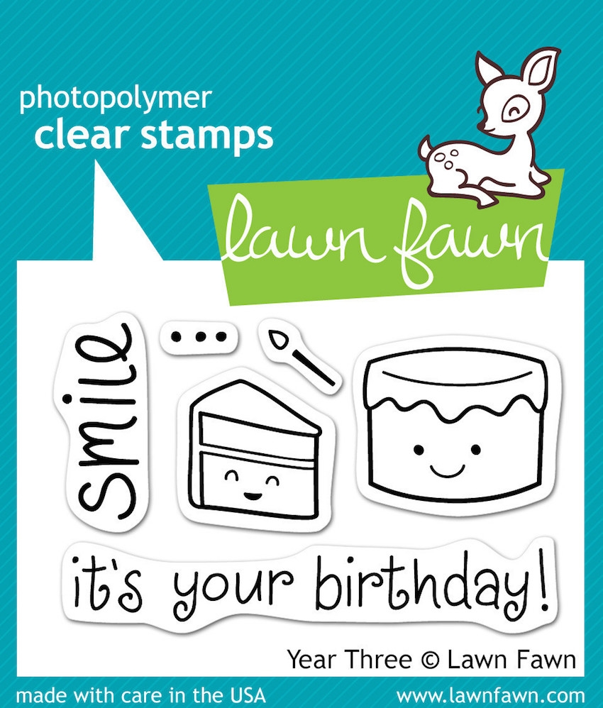 Lawn Fawn YEAR THREE Clear Stamps zoom image
