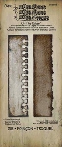 Tim Holtz Sizzix Die TORN NOTEBOOK On The Edge 658555 zoom image
