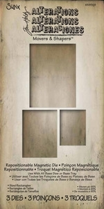 Tim Holtz Sizzix Die SIZED RECTANGLES Movers Shapers 658568 Preview Image