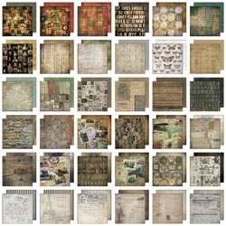 Tim Holtz Idea-ology Paper Stash COLLAGE MINI 8x8 TH93054