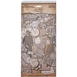 Tim Holtz Idea-ology Salvage Stickers FRENCH INDUSTRIAL TH93053