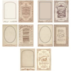 Tim Holtz Idea-ology CABINET CARD FRAMES TH93073 Preview Image