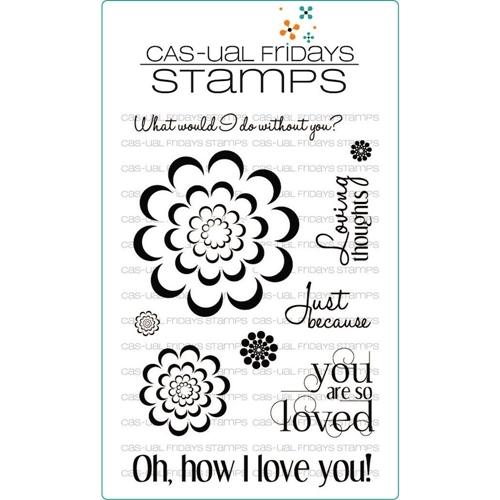 CAS-ual Fridays LOVING THOUGHTS Clear Stamps CFSS13001 Preview Image