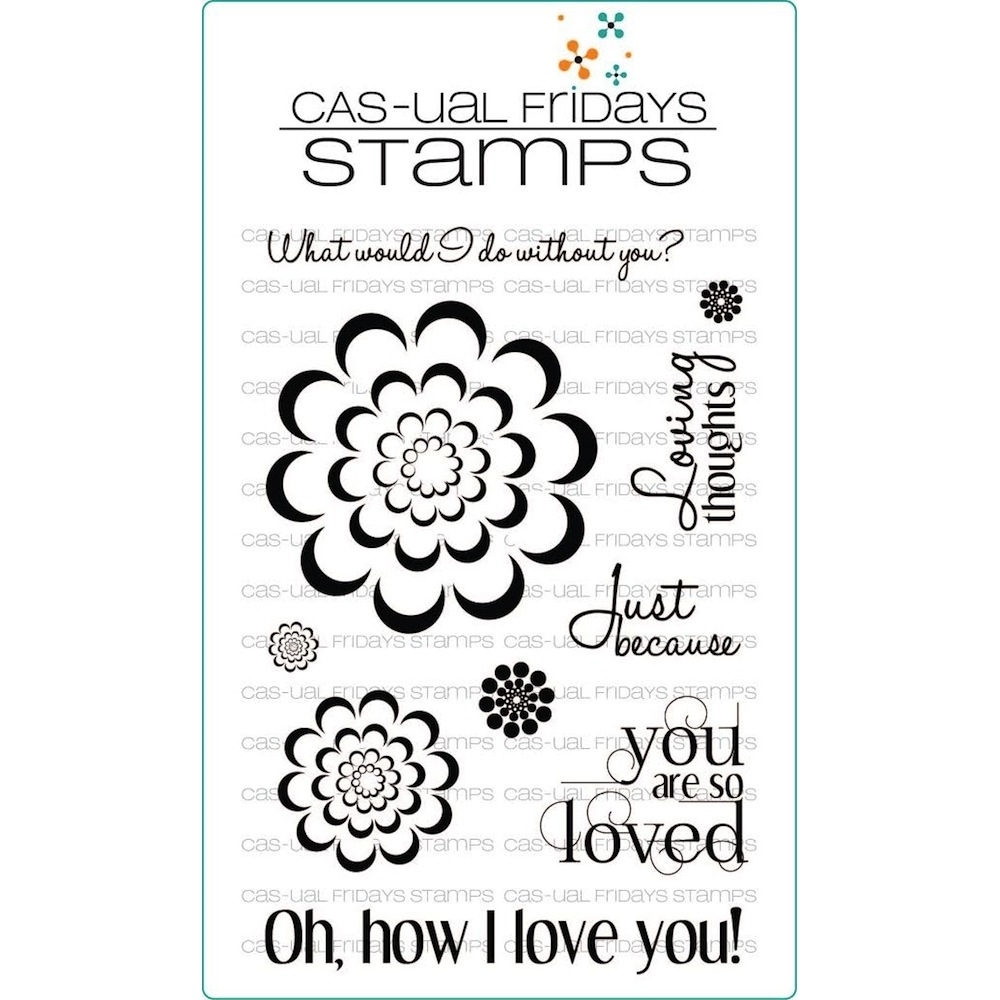 CAS-ual Fridays LOVING THOUGHTS Clear Stamps CFSS13001 zoom image