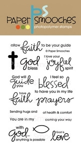 Paper Smooches SPIRITUAL SAMPLER Clear Stamps Kim Hughes Preview Image