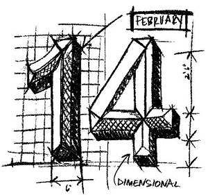 Tim Holtz Rubber Stamp 14 SKETCH P1-2062 * Preview Image