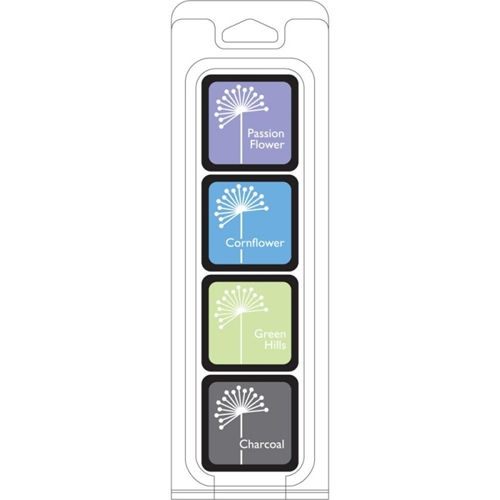 Hero Arts Mini CUBE INK PADS Set FIELD NOTES af240 Preview Image