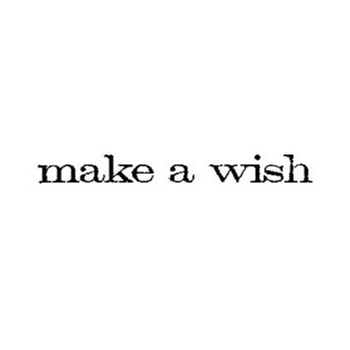 Tim Holtz Rubber Stamp MAKE A WISH Stampers Anonymous D5-2145