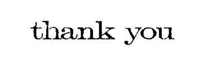 Tim Holtz Rubber Stamp THANK YOU Stampers Anonymous D6-2150 zoom image