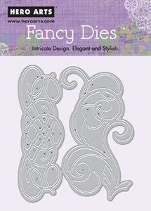 Hero Arts Fancy Die FLOURISH di077