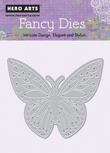 Hero Arts Fancy Die BUTTERFLY di078