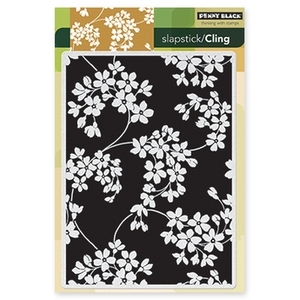 Penny Black Cling Stamp GLORY OF MODESTY Rubber Unmounted 40-206 Preview Image